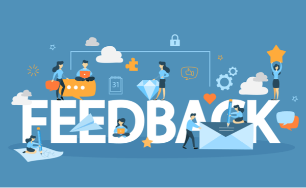 หาคอนเทนต์ที่มาจาก feedback