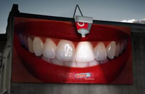ตัวอย่างโฆษณายาสีฟัน ยี่ห้อคอลเกต